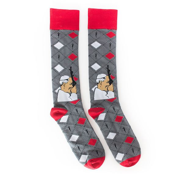 ST. JOHN PAUL II ADULT SOCKS
