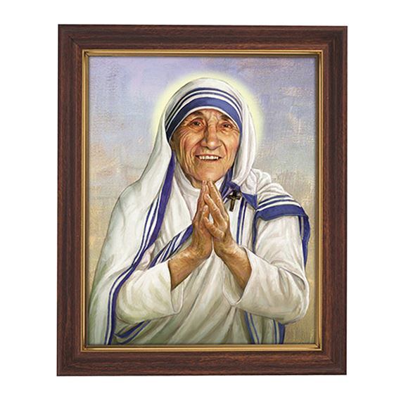 ST. TERESA OF CALCUTTA - BROWN FRAME