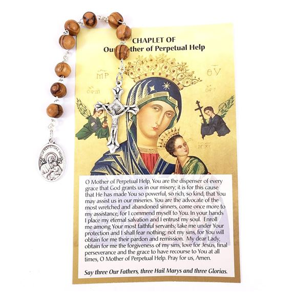 CHAPLET OF OUR LADY OF PERPETUAL HELP