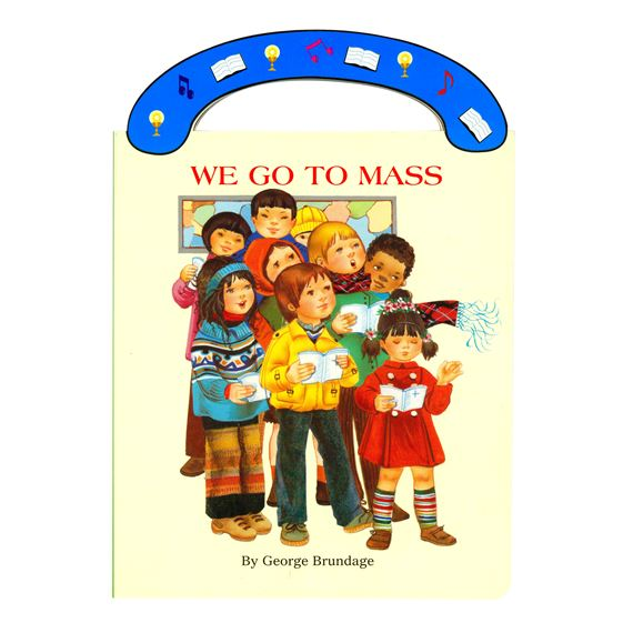 WE GO TO MASS - BOARD BOOK
