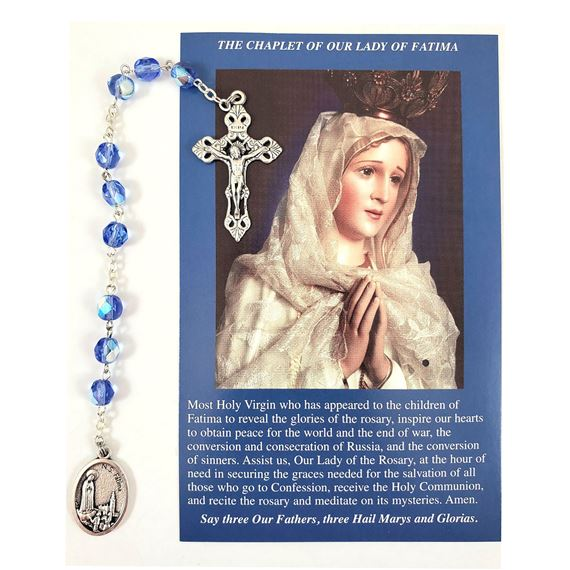 CHAPLET OF OUR LADY OF FATIMA