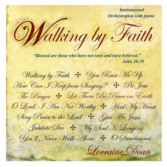 WALKING BY FAITH - INSTRUMENTAL CD