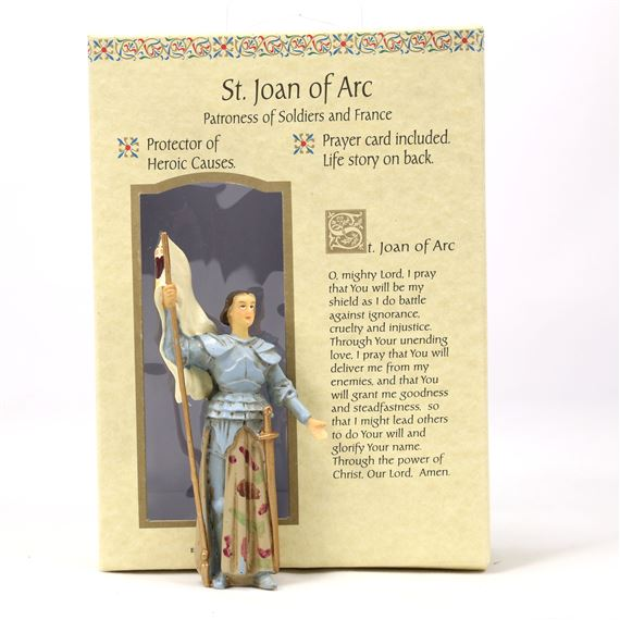 ST. JOAN OF ARC GIFT SET