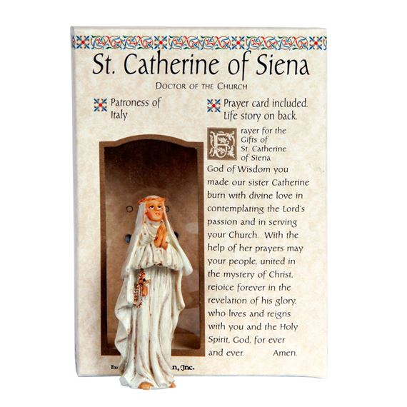 ST. CATHERINE OF SIENA GIFT SET
