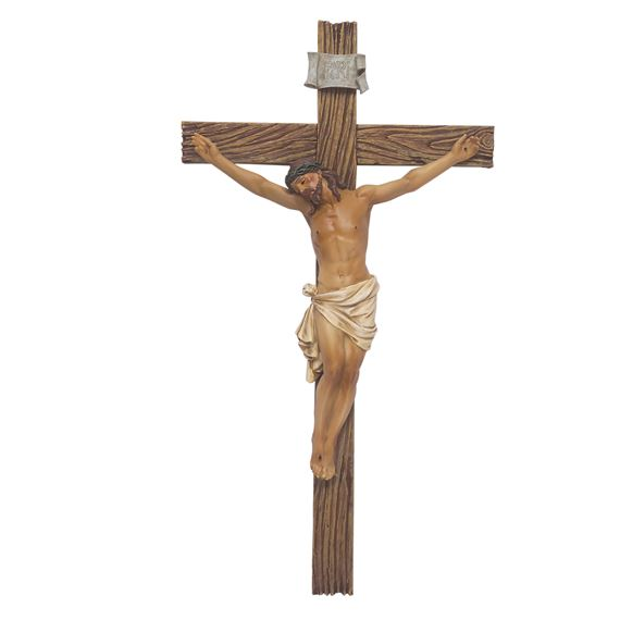 RENAISSANCE COLLECTION CRUCIFIX - 13 1/2""