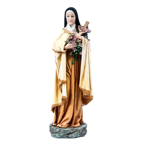 ST. THERESE OF LISIEUX STATUE - 10""