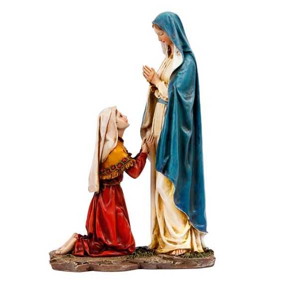 OUR LADY OF LOURDES AND ST. BERNADETTE STATUE
