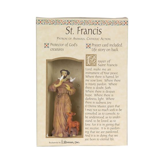 ST. FRANCIS GIFT SET