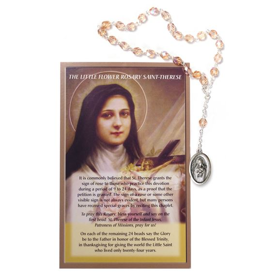 CHAPLET OF ST. THERESE THE LITTLE FLOWER
