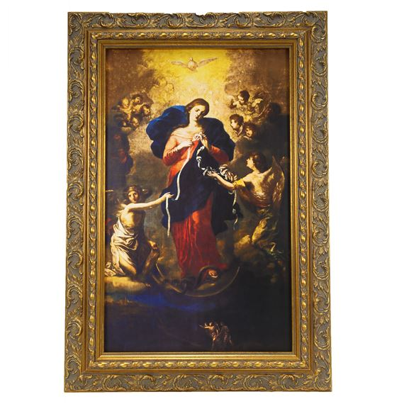 MARY UNDOER OF KNOTS FRAMED PICTURE (10 x 16)