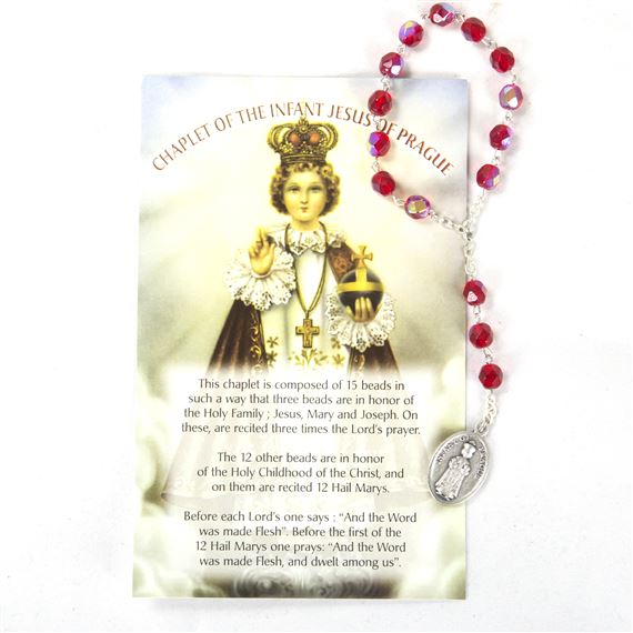 CHAPLET OF THE INFANT OF PRAGUE