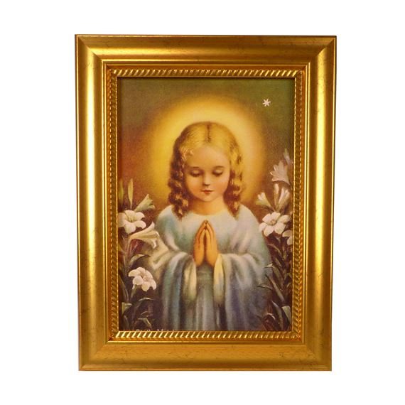 "CHILD MARY - STELLA MATUTINA - 6 3/4"" x 8 3/4"""