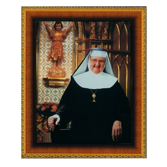MOTHER ANGELICA FRAMED PORTRAIT