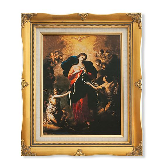 MARY UNDOER OF KNOTS -  FRAMED ARTWORK