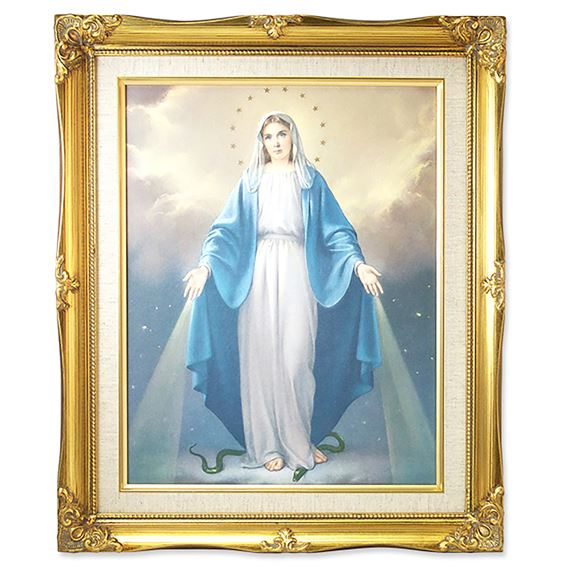 OUR LADY OF GRACE FRAMED ARTWORK