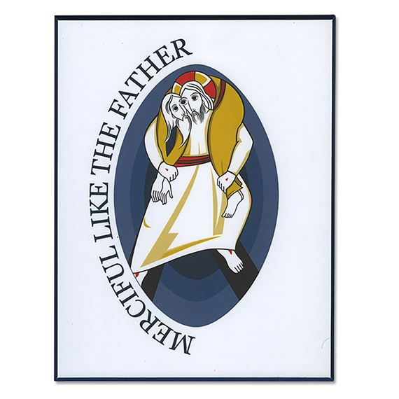 MERCIFUL LIKE THE FATHER PLAQUE