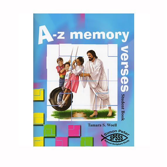 A-Z MEMORY VERSES STUDENT BOOK