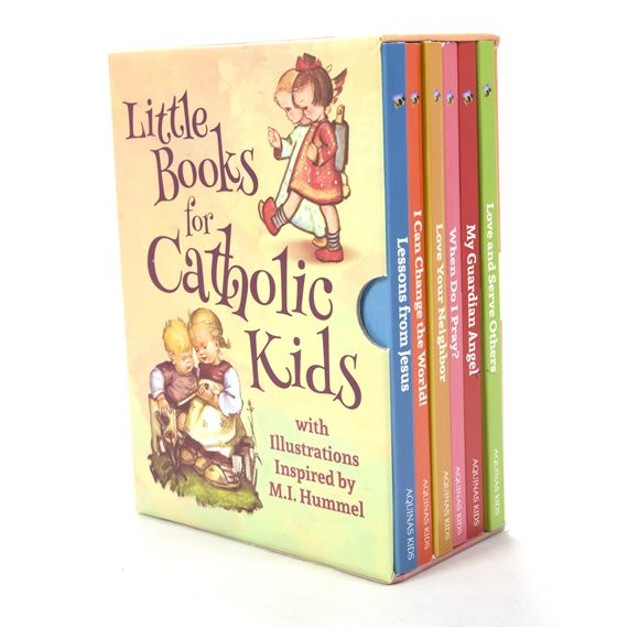 LITTLE BOOKS FOR CATHOLIC KIDS BOXED SET