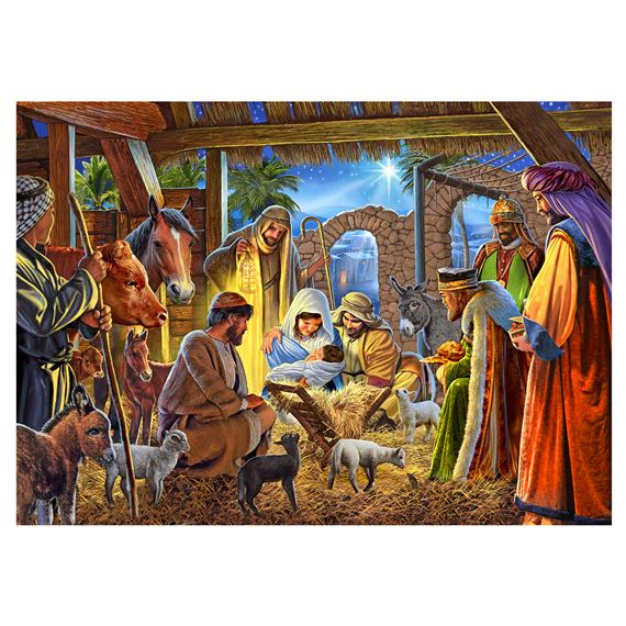 TRADITIONAL NATIVITY - BOXED CHRISTMAS CARDS