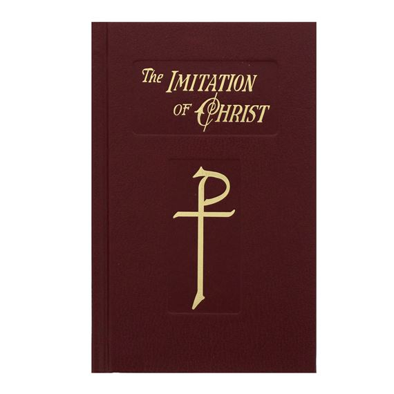 THE IMITATION OF CHRIST - BURGUNDY HARDCOVER