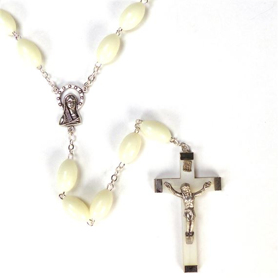 LARGE BEAD LUMINOUS ROSARY