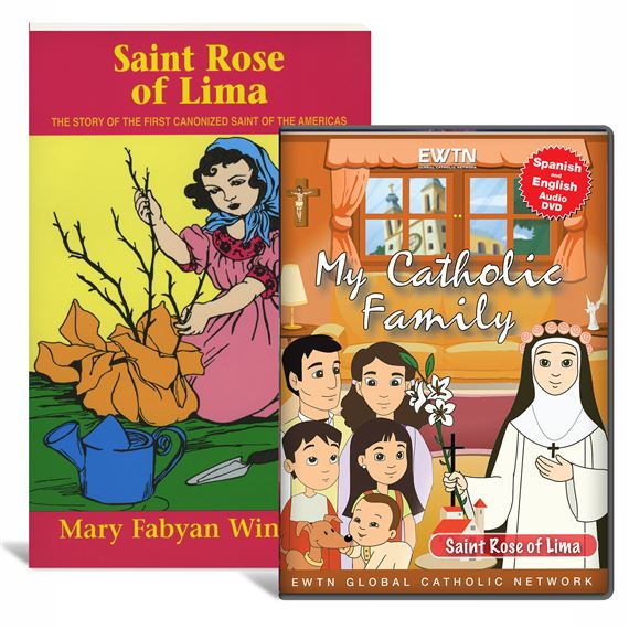 ST. ROSE OF LIMA CHILDREN'S BOOK & DVD SET