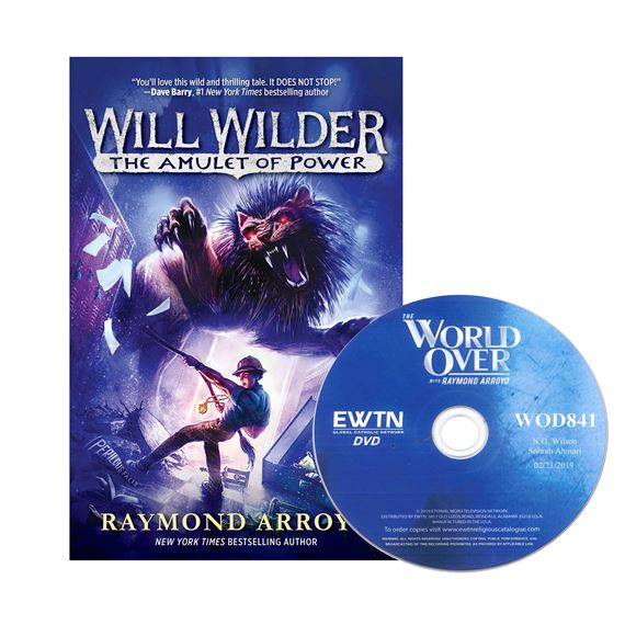WILL WILDER THE AMULET OF POWER BOOK & FREE DVD