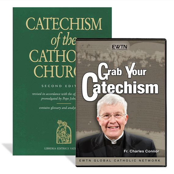 GRAB YOUR CATECHISM BOOK AND DVD SET