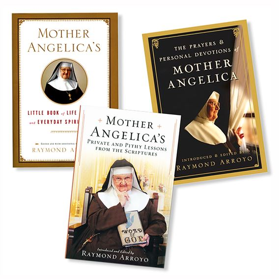 MOTHER ANGELICA - SET OF THREE BOOKS