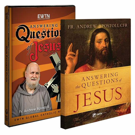ANSWERING THE QUESTIONS OF JESUS BOOK &  DVD SET