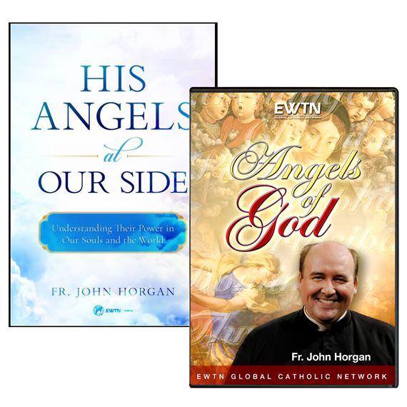 HIS ANGELS AT OUR SIDE BOOK & DVD SET
