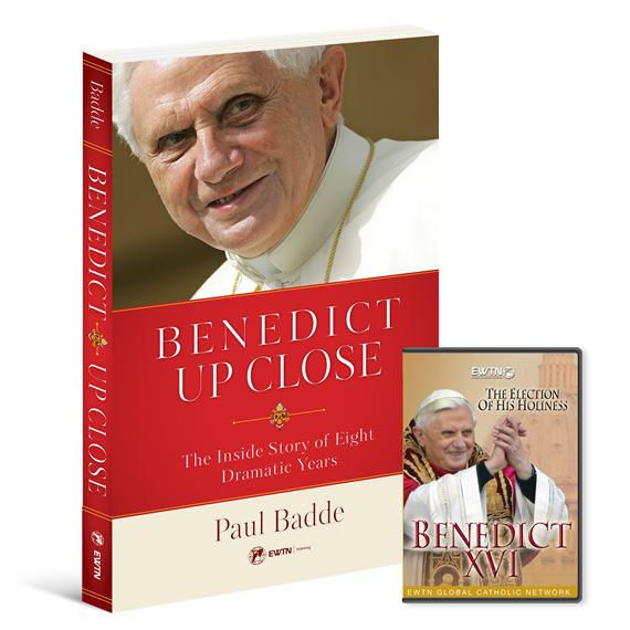 POPE BENEDICT XVI BOOK & DVD SET