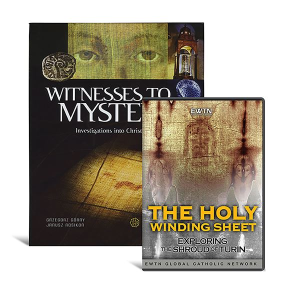 SHROUD OF TURIN BOOK & DVD SET