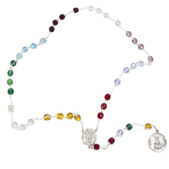 GLASS BEAD CHAPLET OF ST. MICHAEL
