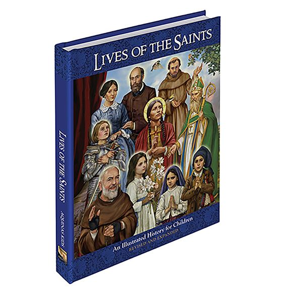 LIVES OF THE SAINTS ILLUSTRATED FOR CHILDREN