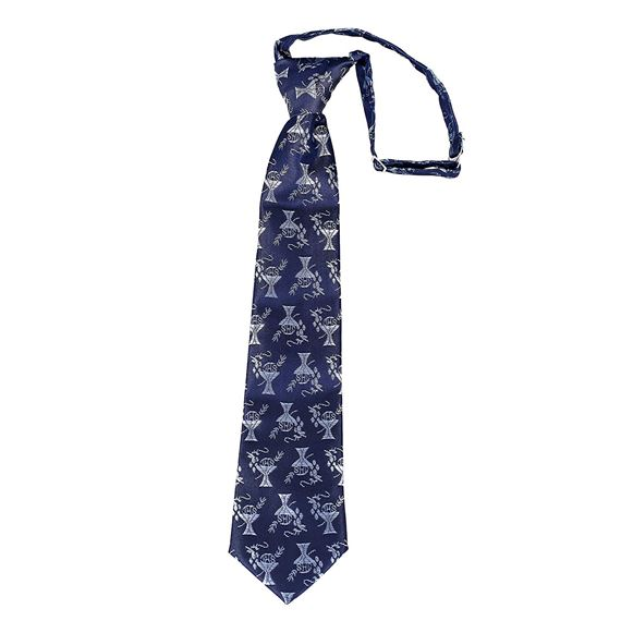 PRE-KNOTTED  FIRST COMMUNION NECKTIE - NAVY
