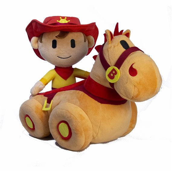 TOMKIN AND BLAISE PLUSH TOY SET