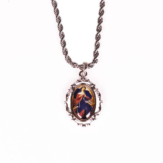 OUR LADY UNDOER OF KNOTS NECKLACE