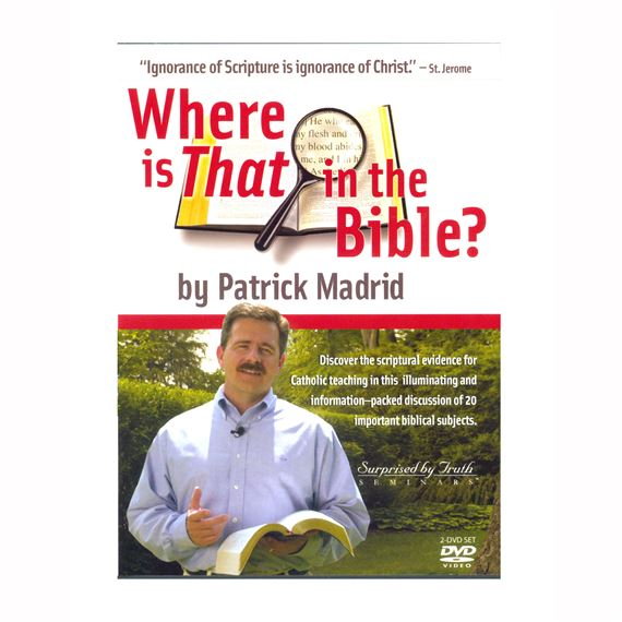 WHERE IS THAT IN THE BIBLE? - DVD