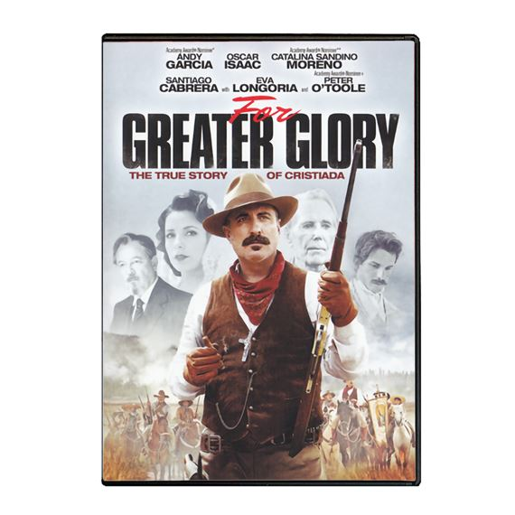 FOR GREATER GLORY - DVD