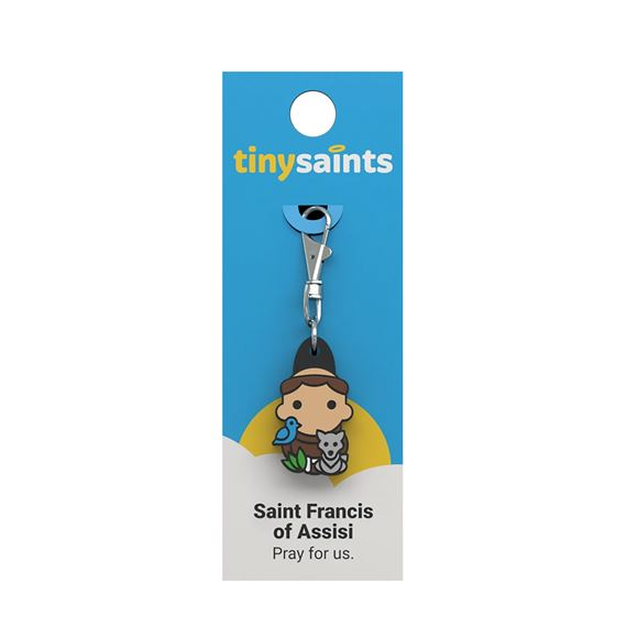 ST. FRANCIS OF ASSISI - TINY SAINTS CLIP-ON