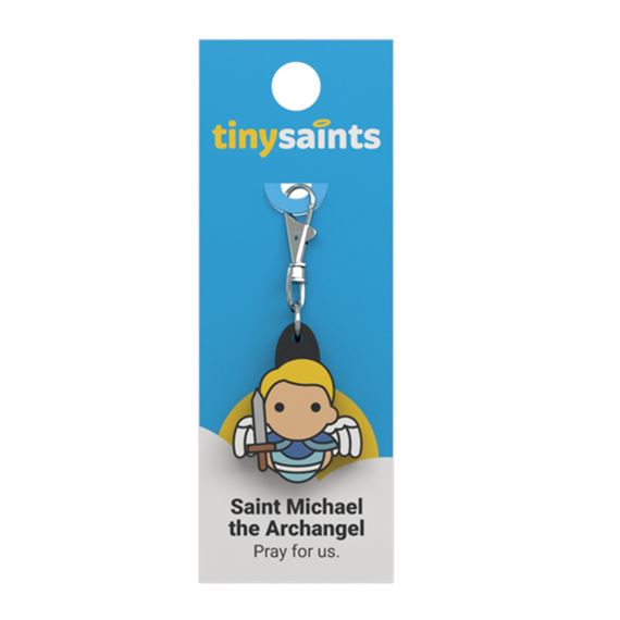 ST. MICHAEL THE ARCHANGEL - TINY SAINTS CLIP-ON