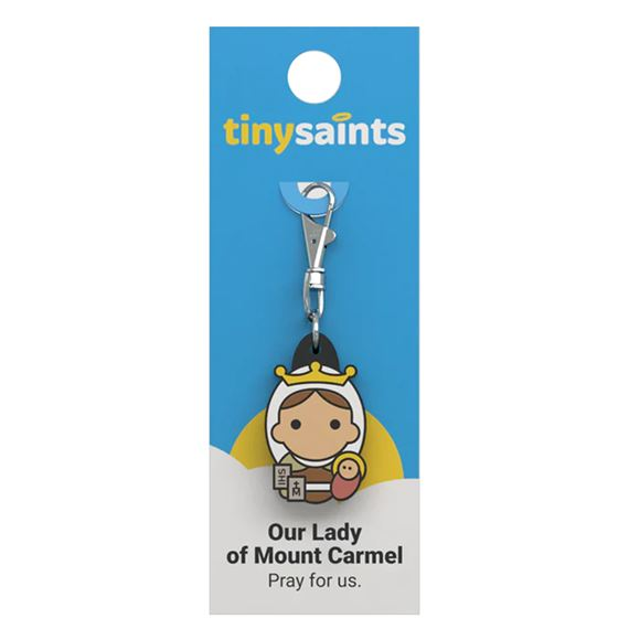 OUR LADY OF MOUNT CARMEL - TINY SAINTS CLIP-ON