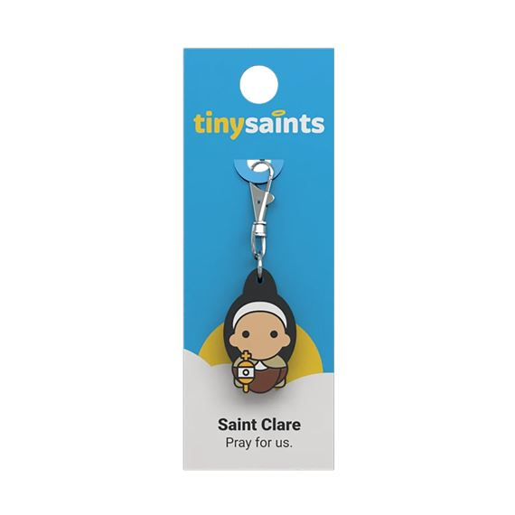 ST. CLARE OF ASSISI - TINY SAINTS CLIP-ON