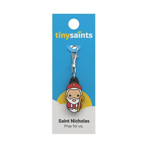 ST. NICHOLAS - TINY SAINTS CLIP-ON