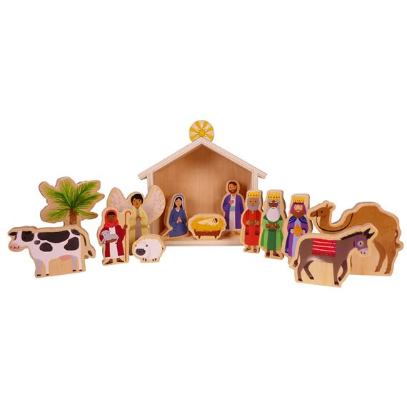 MY FIRST NATIVITY WOOD PLAY SET