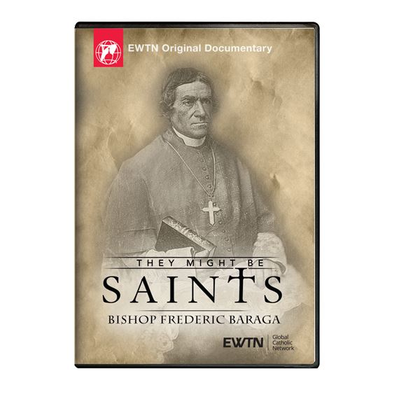 THEY MIGHT BE SAINTS BISHOP FREDERIC BARAGA DVD