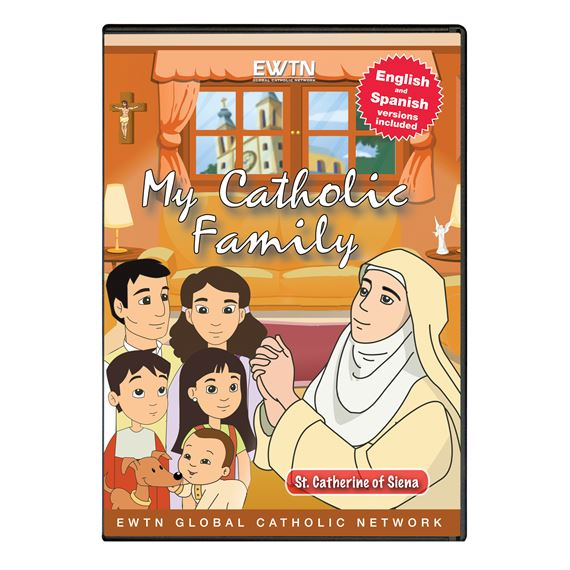 MY CATHOLIC FAMILY - ST. CATHERINE OF SIENA  DVD