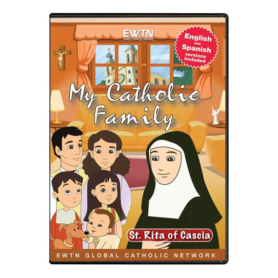 MY CATHOLIC FAMILY - ST. RITA OF CASCIA  DVD