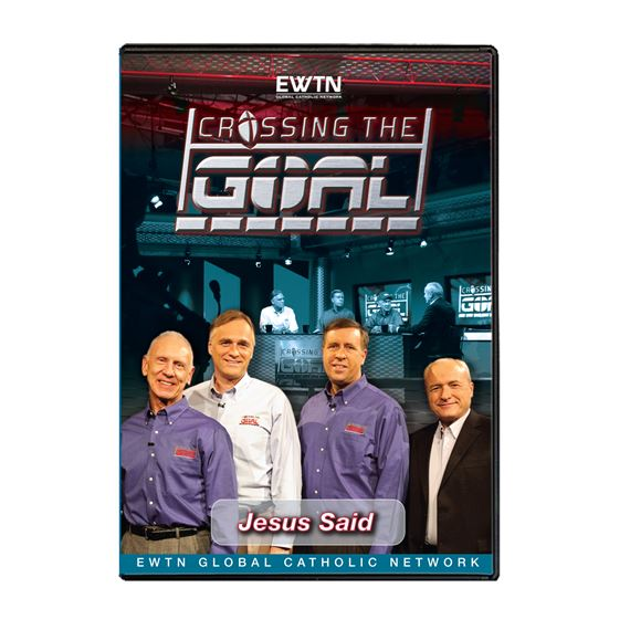 CROSSING THE GOAL: JESUS SAID - DVD